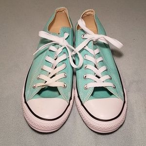 Converse All Star little blue low top